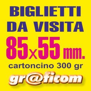 biglietti da visita 85x55 cartoncino