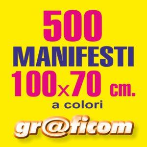manifesti 100x70 500
