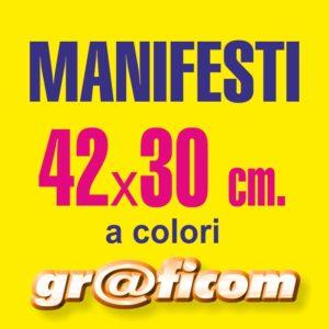 manifesti 42x30 cm