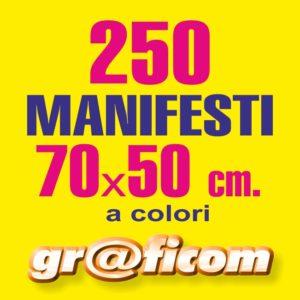 manifesti 70x50 250