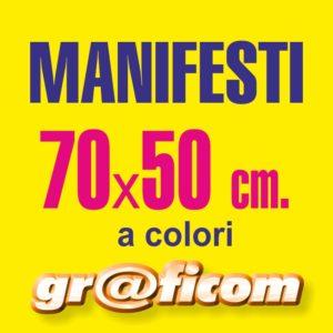 Manifesti 70x50 cm