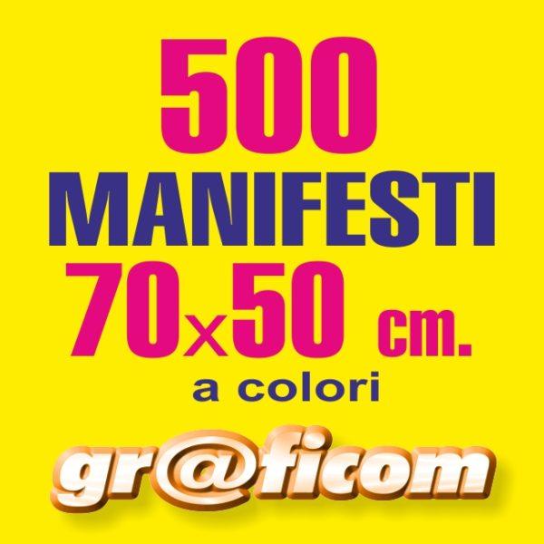 manifesti 70x50 500