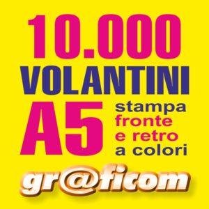 volantini A5 10000