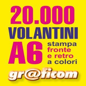 volantini A6 20000