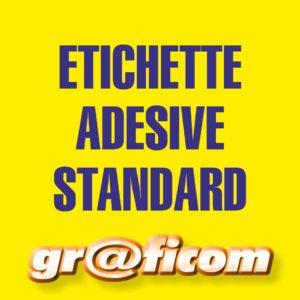 etichette adesive standard