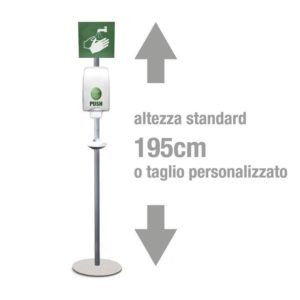 CONFIGURA LA TUA PIANTANA PER DISPENSER