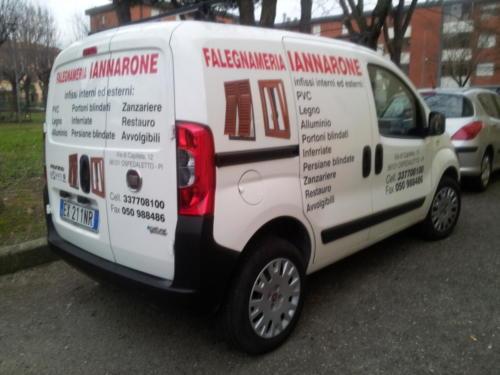 Graficom veicoli aziendali personalizzati