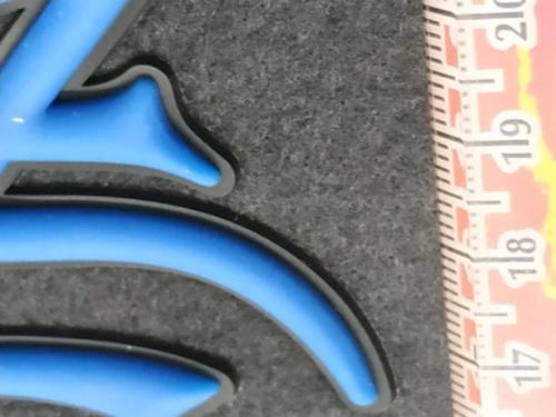 GRAFICOM Patch termoadesiva 3D in silicone.