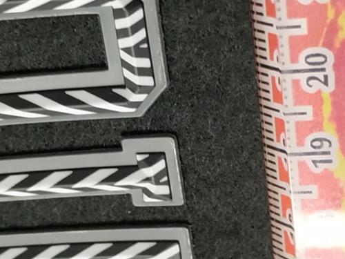 GRAFICOM Patch termoadesiva 3D in silicone rivestimento in TPU (poliuretano termoplastico) stampato CMYK.