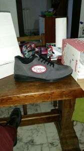 Patch personalizzata su calzatura